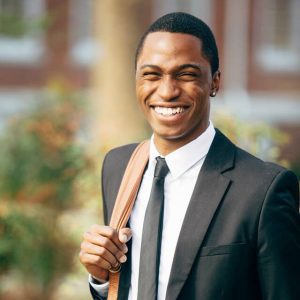 Image of a happy man who found a dentist near me in Lincoln, NE at Preserve Family Dentistry.