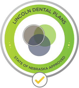 Image of the Lincoln Dental Plans Logo-approved by the State of Nebraska. This is a great dental discount plan and a great way to receive affordable dental care.