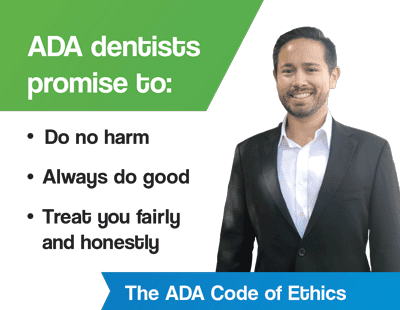 ADA code of ethics by Family Dentist in Lincoln, NE Dr. Anton Diy