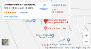 SPD Map for Lincoln family dentists