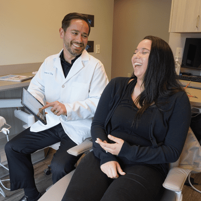dr anton with patient