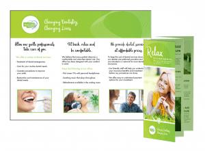 brochure relax from dentist near mev